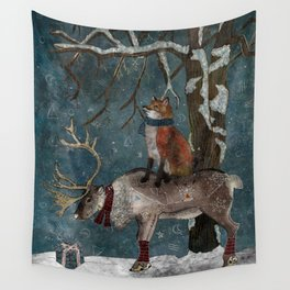 Winter Tale Wall Tapestry
