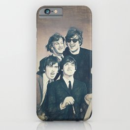 Beatle - John, Paul, George, and Ringo iPhone Case