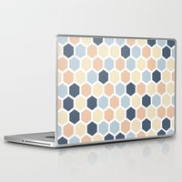 honeycomb Laptop & iPad Skins featuring Honeycomb by 603 Creative Studio