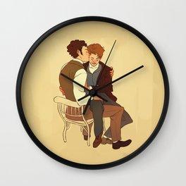 Courfeyrac/Marius Wall Clock