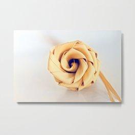 Sweetgrass Rose Metal Print