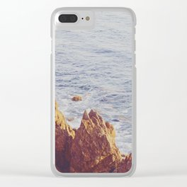 Jagged View Clear iPhone Case