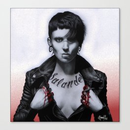 Lisbeth Salander Canvas Print