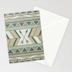 Aztec Pattern Arrows Stationery Cards