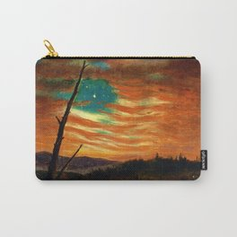 Our Banner in the Sky by Frederic Irwin Church Carry-All Pouch