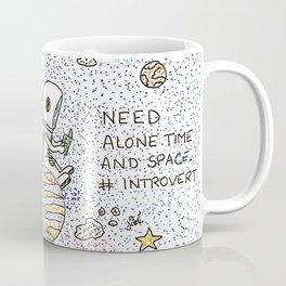 Need space, alone Coffee Mug