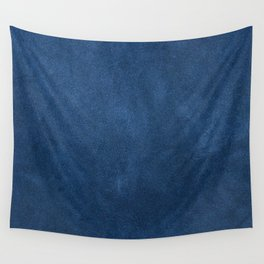 Blue leather texture Wall Tapestry