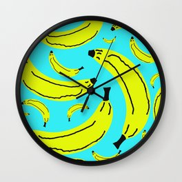 Banana Ramama Wall Clock
