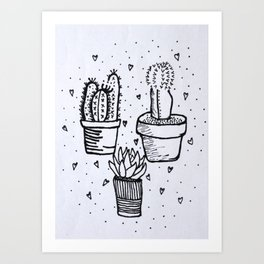 Ami Art Print