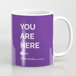 YOU ARE HERE [Gotham Violet] Coffee Mug