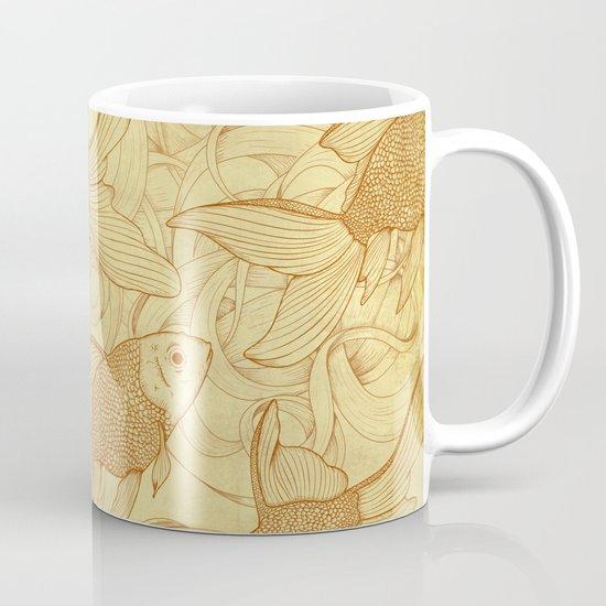 Vintage Goldfishes II Mug