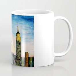 Statue of Liberty with view of NEW YORK Coffee Mug
