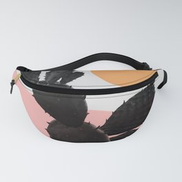 Abstraction_NEW_SUN_CACTUS_POP_ART_099AC Fanny Pack