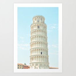 Postcards from Italy: Pisa Art Print