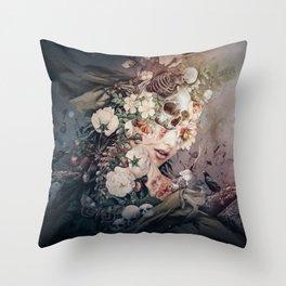 Dark to Light II Throw Pillow