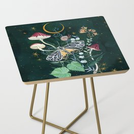 Mushroom night moth Side Table