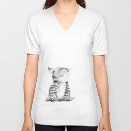 Cute Kitty Unisex V-Neck