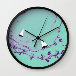 Ocean Wonderland VII Wall Clock