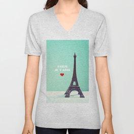 Paris Je T'aime Unisex V-Neck