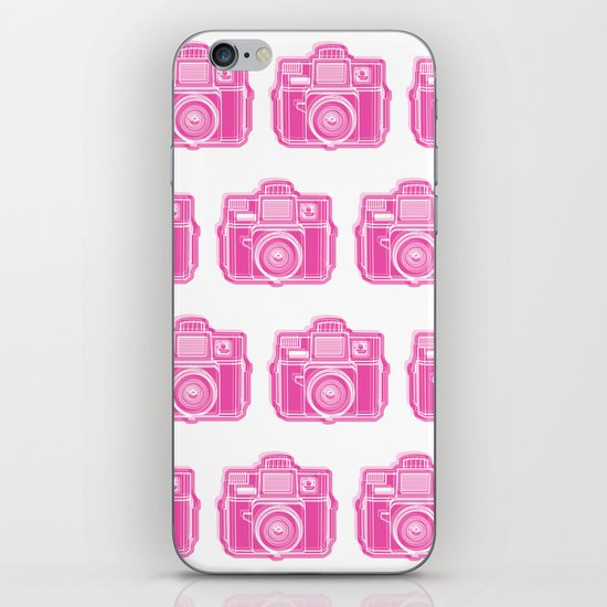 I Still Shoot Film Holga Logo - Pink iPhone & iPod Skin
