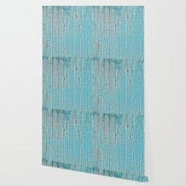 Blue Slats Wallpaper