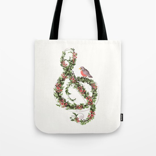 Robin's Song Tote Bag