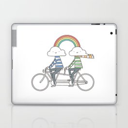 Love makes life a beautiful ride Laptop & iPad Skin