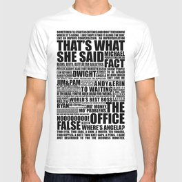 The Office B&W T-shirt