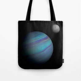 Kepler 421b, An Ice Giant Tote Bag