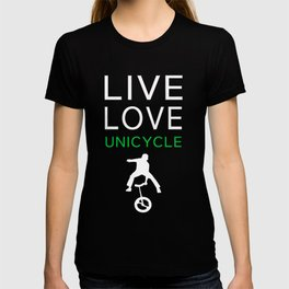 Perfect T-Shirt For Unicycle Lover. Gift Ideas For Brother. T-shirt