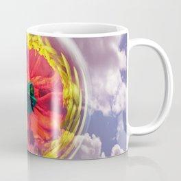Flower Bubble in the sky Coffee Mug