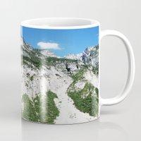 italian Mugs featuring Italian alps by Carlo Toffolo