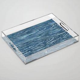 Ripples Acrylic Tray