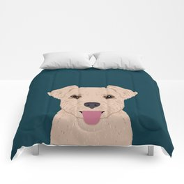 Blair - Norfolk Terrier gifts for dog lovers and pet owner gift ideas. Dog people gifts Comforters