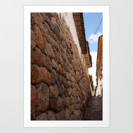 Cusco, Peru Art Print