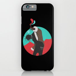 birds in the trap iPhone Case