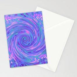 BLUE SAFARI FLOW Stationery Cards