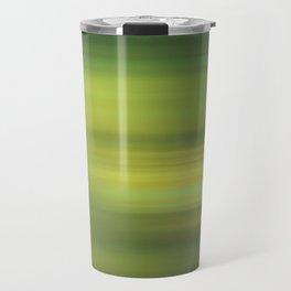 green abstract Travel Mug
