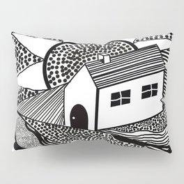 House of Lines Black Pillow Sham
