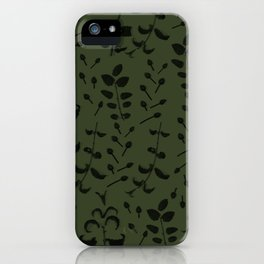 Mint and Chive iPhone Case