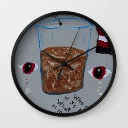 Chocolate Water Wall Clock
