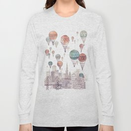 Voyages Over San Francisco ~ Refresh Long Sleeve T-shirt