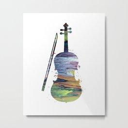 Viola Metal Print