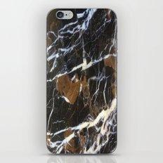 Stylish Polished Black Marble iPhone & iPod Skin