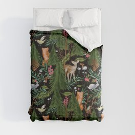 Winter Forest Animals Comforters