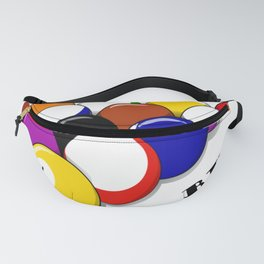 99 Problems Billiards Pool Player Pun Fanny Pack