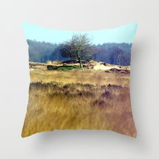 edge off. Throw Pillow