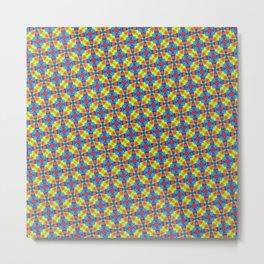 Pattern 102-D5 Metal Print