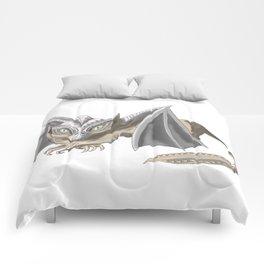 DinoCat by Dreamingsenga - Inktober 2017 Comforters