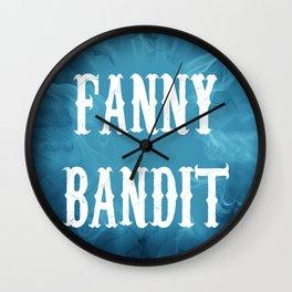 Fanny Bandit Wall Clock